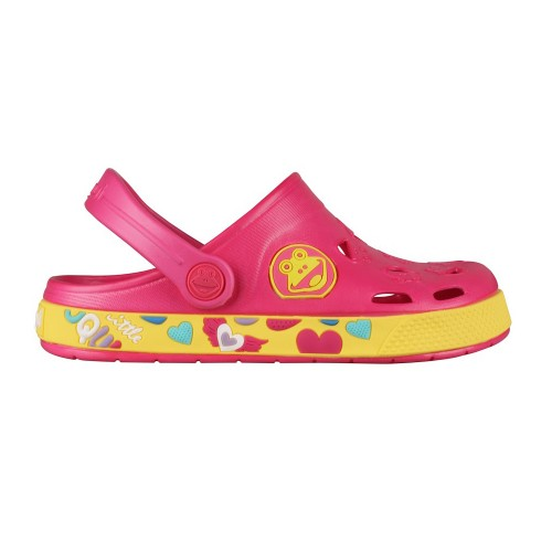 Coqui froggy 8802 Fuchsia/Yellow