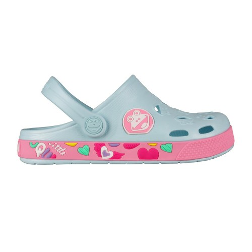 Coqui froggy 8802 Pastel blue/Dk. Pink